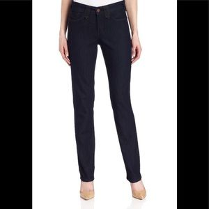 NYDJ Marilyn Straight Jean size 10/31 inseam dark